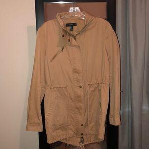 Forever 21 khaki trench coat!